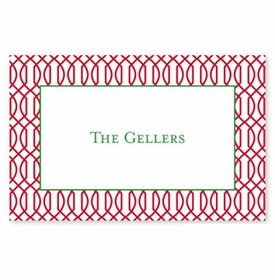 boatman geller trellis reverse cherry disposable placemats