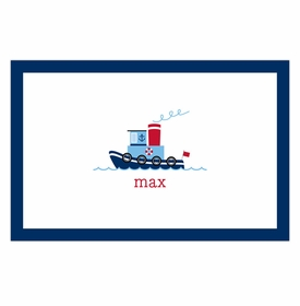 boatman geller tug placemat