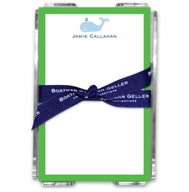 boatman geller whale acrylic note sheets