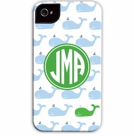 boatman geller whale repeat cell phone case