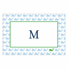 boatman geller whale repeat disposable placemats