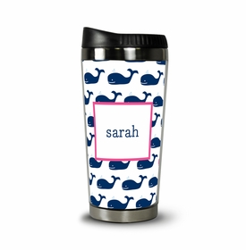 boatman geller whale repeat navy travel tumbler