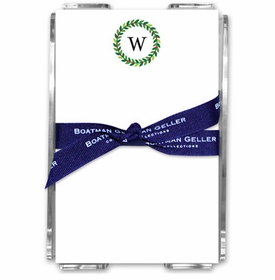 boatman geller wreath acrylic note sheets