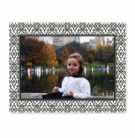 boatman geller wrought iron black photocard