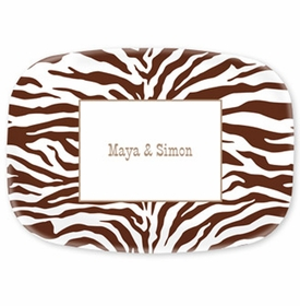 boatman geller zebra chocolate platter