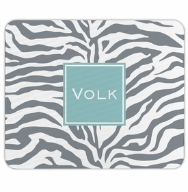 boatman geller zebra gray mouse pad