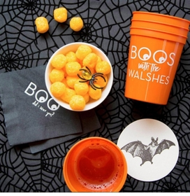 boo with you party cups  - D35