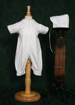 boys cotton christening coverall