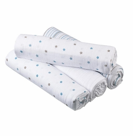 boys muslin wraps by Aden & Anais