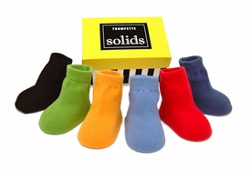 boys solid sock set