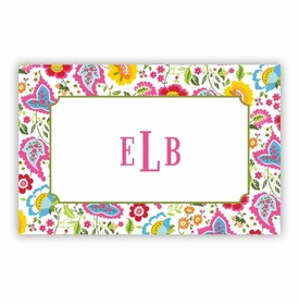 Bright Floral Disposable Placemat