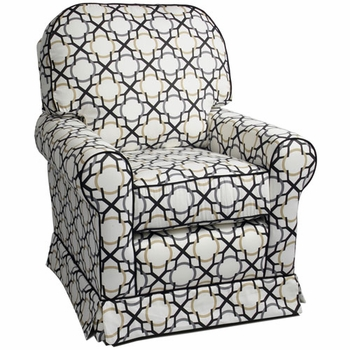 buckingham adult glider recliner<br> (designed with your choice of fabric)