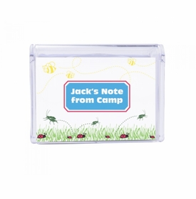 bugs children's note box