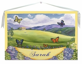 Butterfly Wall Hanging 30x20