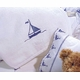 by the sea sailboats personalized baby blanket