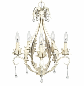 caesar chandelier antique ivory