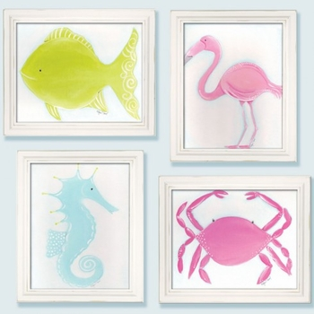 caitlin the crab wall art