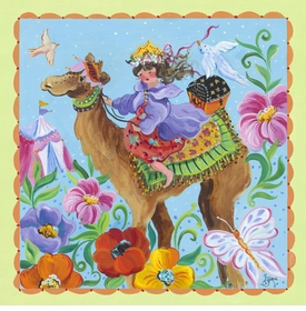 camel ride wall art
