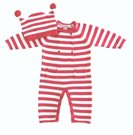 candy cane knit set