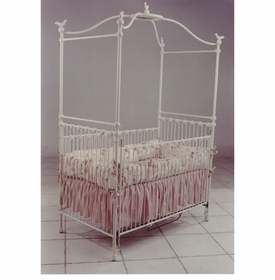 canopy crib with birds 41180