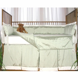 capri crib bedding (custom colors available)
