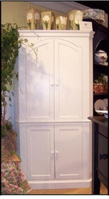 carolina corner cupboard