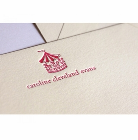 carousel kid's stationery