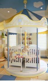 carousel nursery custom designed (please call for pricing)
