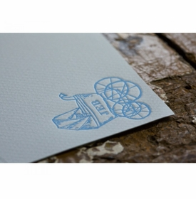 carriage  baby stationery
