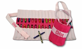 carry me crayon keeper - solid pink