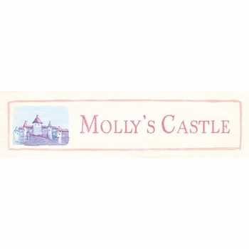 castle customize vintage sign