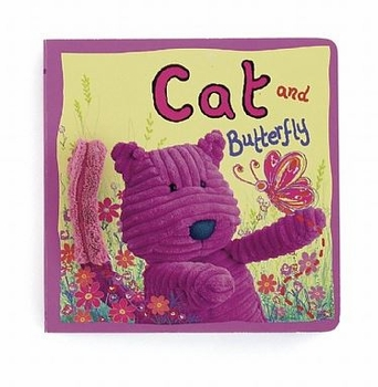 cat and butterfly book by jelly cat