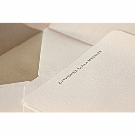 catherine social stationery
