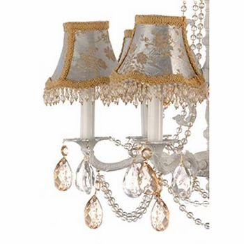champagne crystal chandelier  - 5 arm