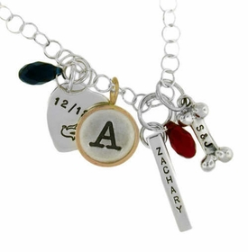 charm necklace jumble
