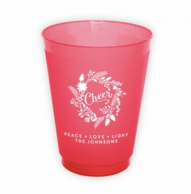 Cheer Wreath Cup