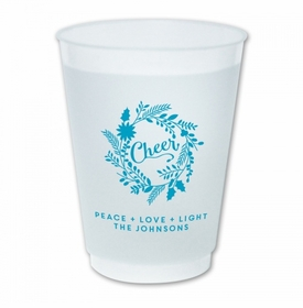 Cheer Wreath Cups