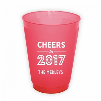 Cheers To Round Cups
