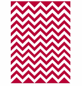 chevron design stroller blanket - non personalized