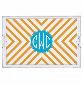 Chevron Large Tray