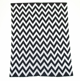 "chevron non-personalized blanket 50"" x 62"""