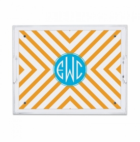 Chevron Small Tray
