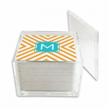 Chevron Square Coaster