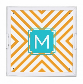 Chevron Square Tray