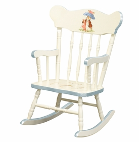 Child's Rocking Chair Antico White Classic Enchanted Forest