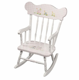 child's rocking chair (nursery animals)