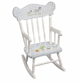 child's rocking chair (safari animals)