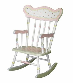 child's rocking chair-serendipity/snow