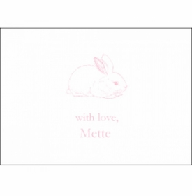 children's gift enclosures - bunny
