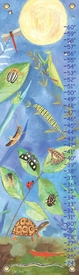 children's growth chart backyard bugs